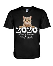 2020 a year to remember V-Neck T-Shirt tile