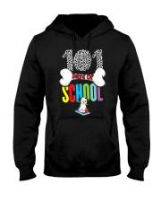 101 Days of School Dalmatian Dog Teachers Ki Hooded Sweatshirt thumbnail