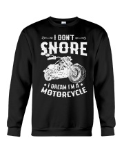 I Dream I'm A Motorcycle Crewneck Sweatshirt thumbnail
