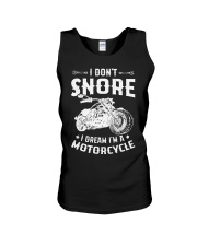 I Dream I'm A Motorcycle Unisex Tank thumbnail