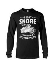 I Dream I'm A Motorcycle Long Sleeve Tee thumbnail