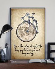Life Is Like Riding A Bicycle 11x17 Poster lifestyle-poster-2
