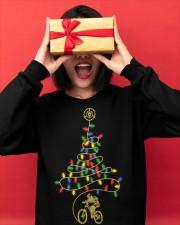 Bicycle Christmas Tree v1 Crewneck Sweatshirt apparel-crewneck-sweatshirt-lifestyle-front-18