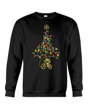 Bicycle Christmas Tree v1 Crewneck Sweatshirt front