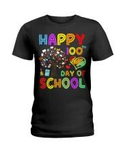 100th Day of School Teachers Kids Educationa Ladies T-Shirt thumbnail