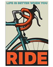 Life Is Better When You Ride V2 11x17 Poster front