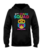 5th Grade Squad Sunflower Owl Fifth Grade Te Hooded Sweatshirt thumbnail