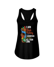 Black History Month African Black Lives Matter Ladies Flowy Tank thumbnail