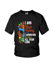 Black History Month African Black Lives Matter Youth T-Shirt thumbnail