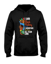 Black History Month African Black Lives Matter Hooded Sweatshirt thumbnail