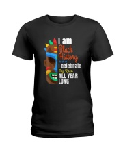Black History Month African Black Lives Matter Ladies T-Shirt thumbnail
