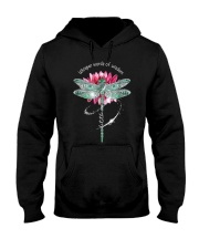 Dragonfly whisper words of wisdom let it be  Hooded Sweatshirt thumbnail