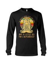 I'm Mostly Peace Love And Light  Long Sleeve Tee thumbnail