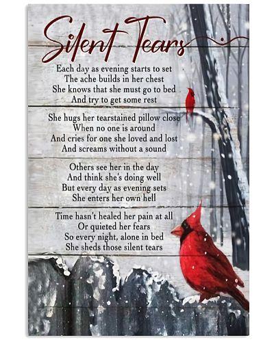 Cardinal Silent Tears