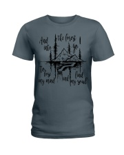 And Into The Forest I Go To Lose My Mind Find My  Ladies T-Shirt thumbnail