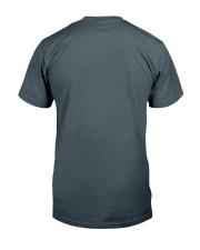 Autism themed shirt funny disabilty pun family Classic T-Shirt back