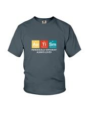 Autism themed shirt funny disabilty pun family Youth T-Shirt thumbnail