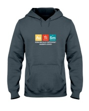 Autism themed shirt funny disabilty pun family Hooded Sweatshirt thumbnail