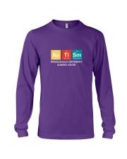 Autism themed shirt funny disabilty pun family Long Sleeve Tee thumbnail