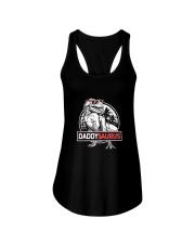 Daddysaurus T shirt T rex Daddy Saurus Dinosaur Ladies Flowy Tank thumbnail