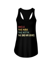Uncle Man Myth Bad Influence  Ladies Flowy Tank thumbnail