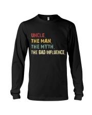 Uncle Man Myth Bad Influence  Long Sleeve Tee thumbnail