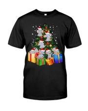 Elephant Christmas Tree Shirt Elephant Christmas Classic T-Shirt front
