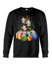 Elephant Christmas Tree Shirt Elephant Christmas Crewneck Sweatshirt thumbnail