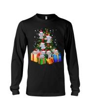 Elephant Christmas Tree Shirt Elephant Christmas Long Sleeve Tee thumbnail