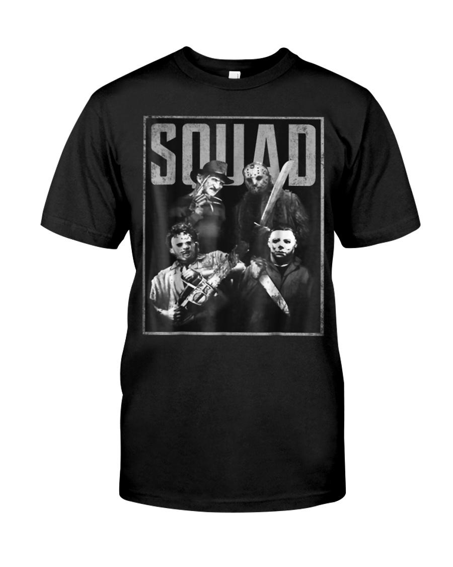 Halloween Squad Horror T-Shirt Gift For Men Women Classic T-Shirt