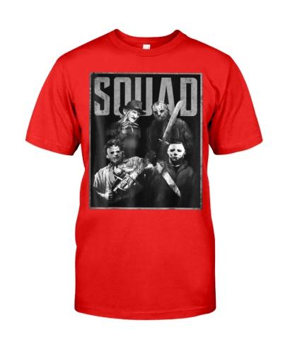 Halloween Squad Horror T-Shirt Gift For Men Women
