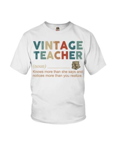 Teacher Vintage