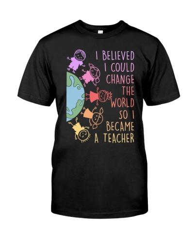 Teacher Change World Became
