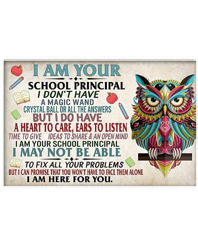 Principal School Poster