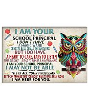 Principal School Poster 17x11 Poster front