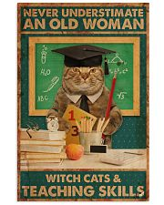 Teaching Cat Skill Poster 11x17 Poster front