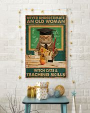 Teaching Cat Skill Poster 11x17 Poster lifestyle-holiday-poster-3