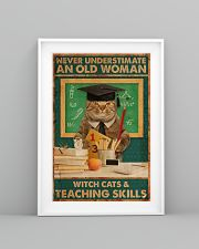 Teaching Cat Skill Poster 11x17 Poster lifestyle-poster-5