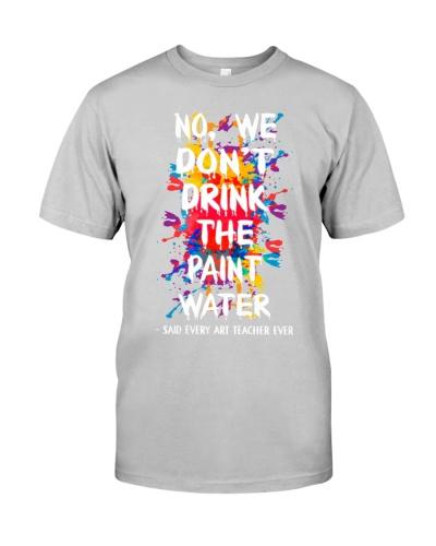 Art Teacher Water