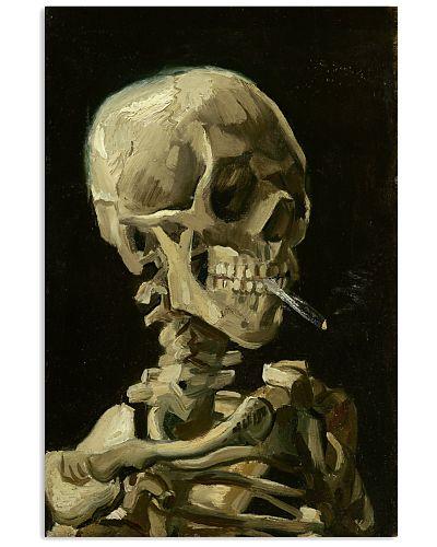 Art Van Skull Poster
