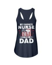 Nurse Favorite Dad Ladies Flowy Tank tile