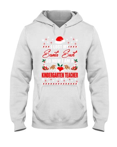 Kindergarten Teacher Santa Suit