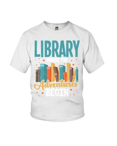 Library Adventure Begin