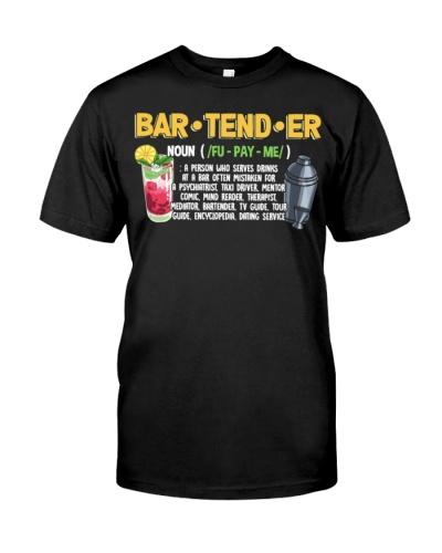 Bartender Noun