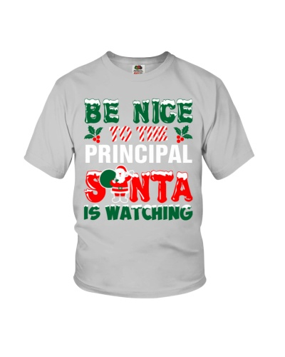 Principal Santa Watching