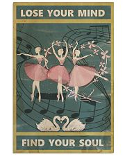 Ballet your soul Poster 11x17 Poster front