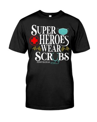 Super Heroes Scrubs