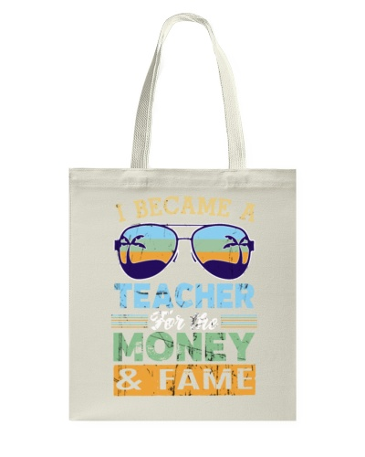 Teacher Money Fame