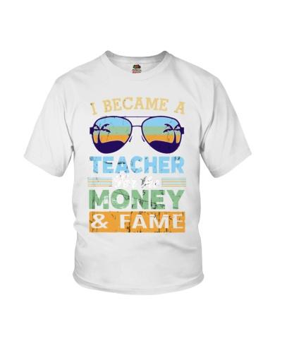 Teacher Money Fame