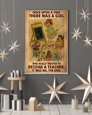 Teacher Upon A TIme 11x17 Poster lifestyle-holiday-poster-1